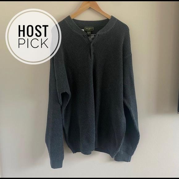 Eddie Bauer   Gray Sweater